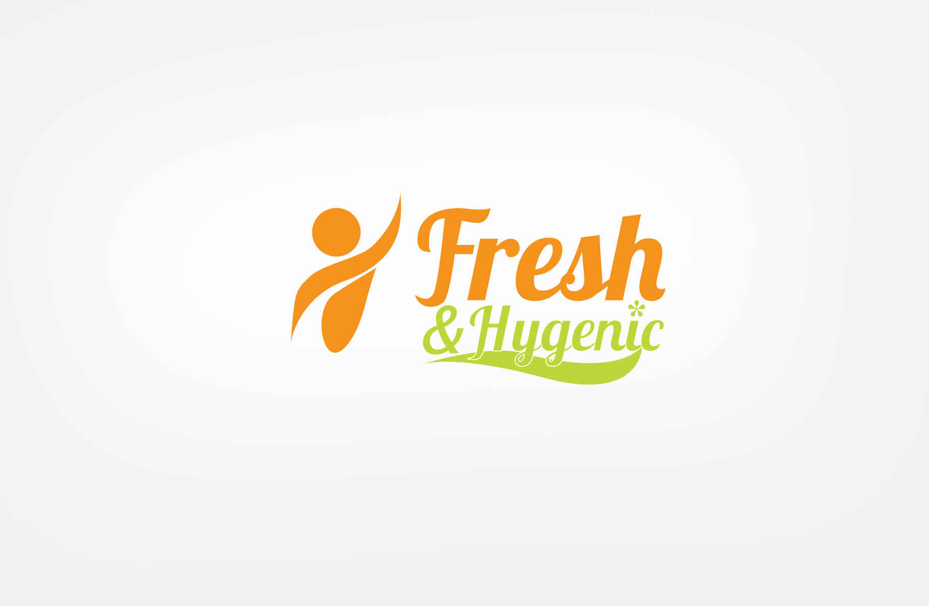 Logo Design by Jan Chua - Entry No. 69 in the Logo Design Contest Fun Logo Design for Fresh & Hygenic.