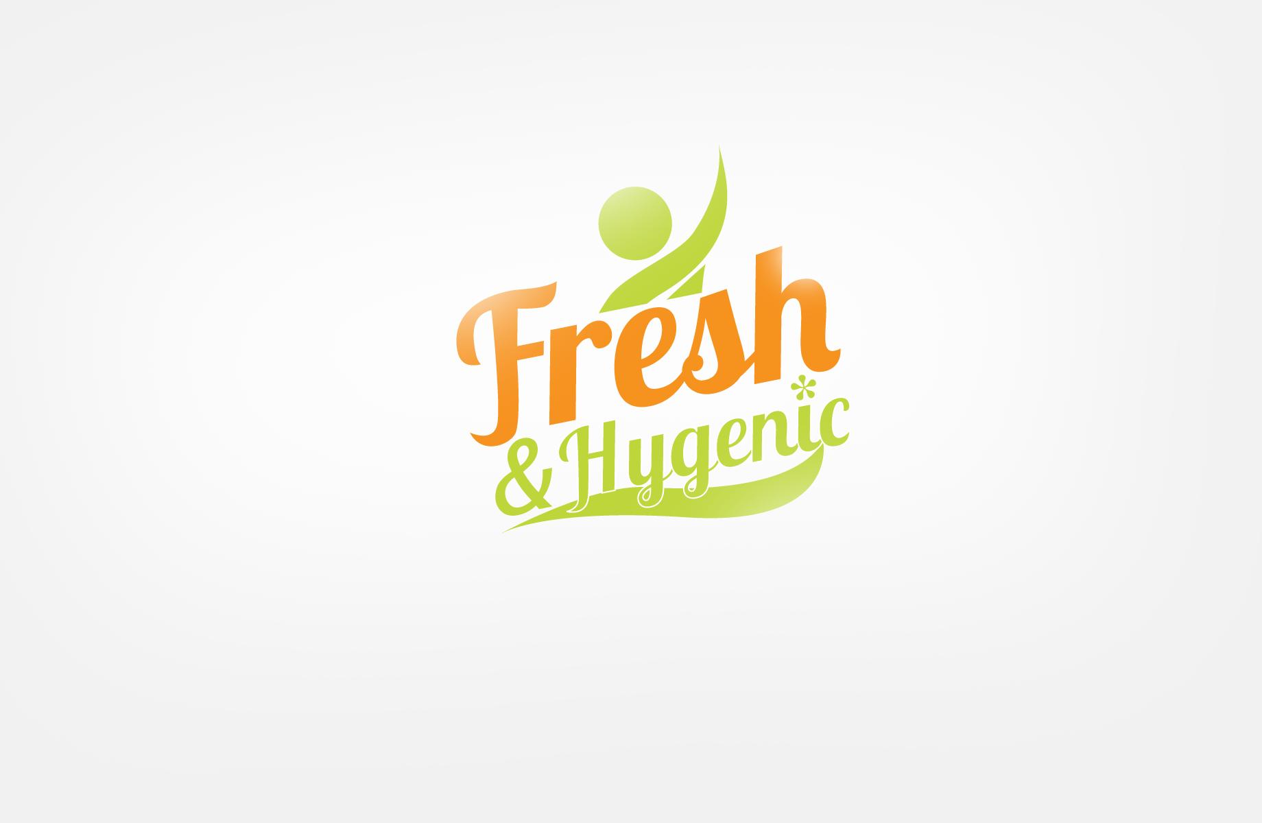 Logo Design by Jan Chua - Entry No. 71 in the Logo Design Contest Fun Logo Design for Fresh & Hygenic.