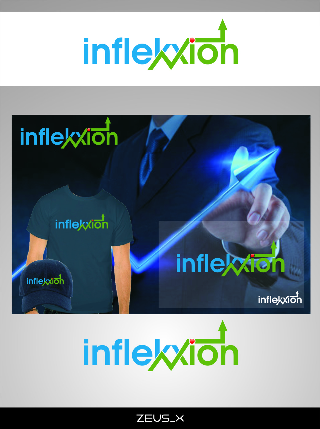 Logo Design by RasYa Muhammad Athaya - Entry No. 178 in the Logo Design Contest Professional Logo Design for Inflekxion.