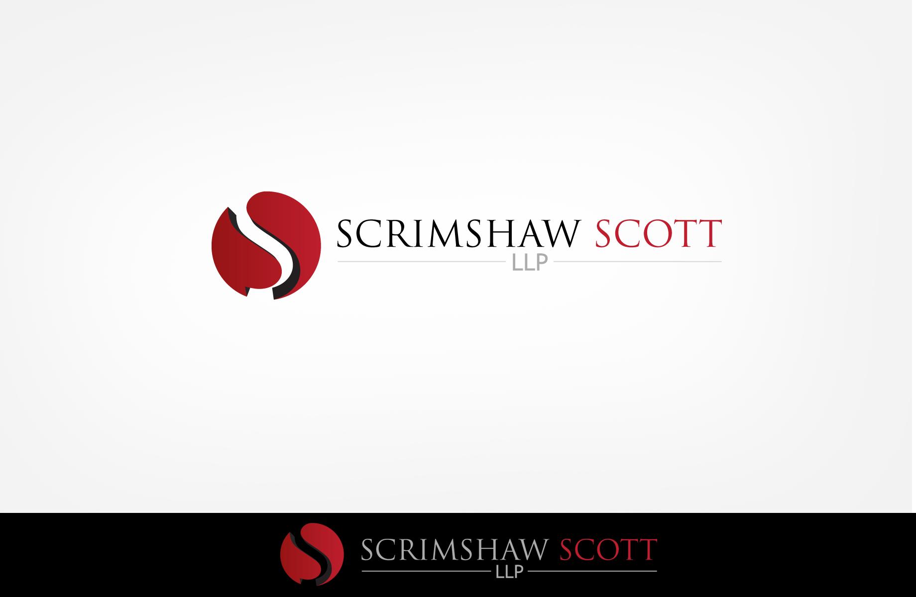 Logo Design by Jan Chua - Entry No. 106 in the Logo Design Contest Creative Logo Design for Scrimshaw Scott LLP.