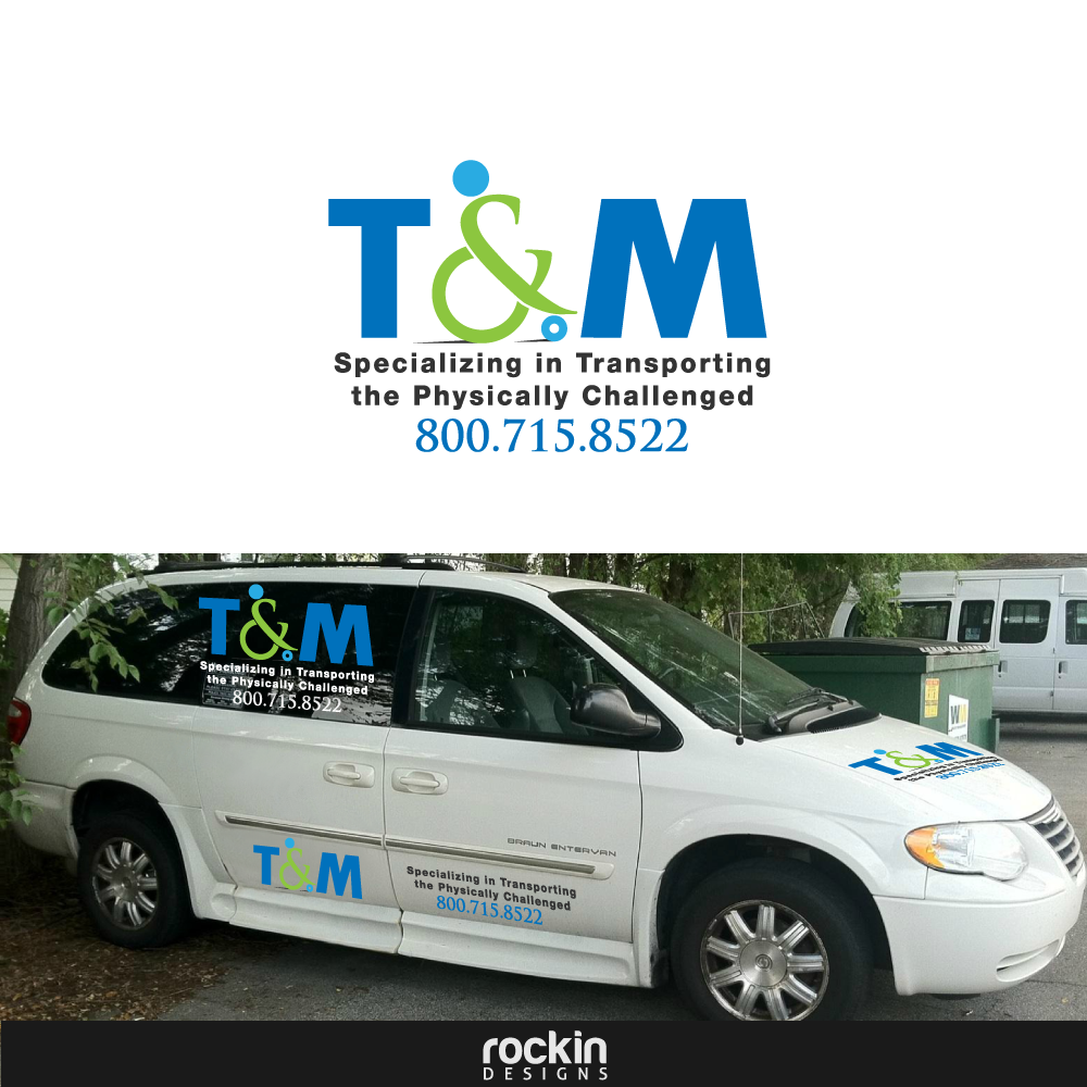 Logo Design by rockin - Entry No. 24 in the Logo Design Contest Artistic Logo Design for T & M.