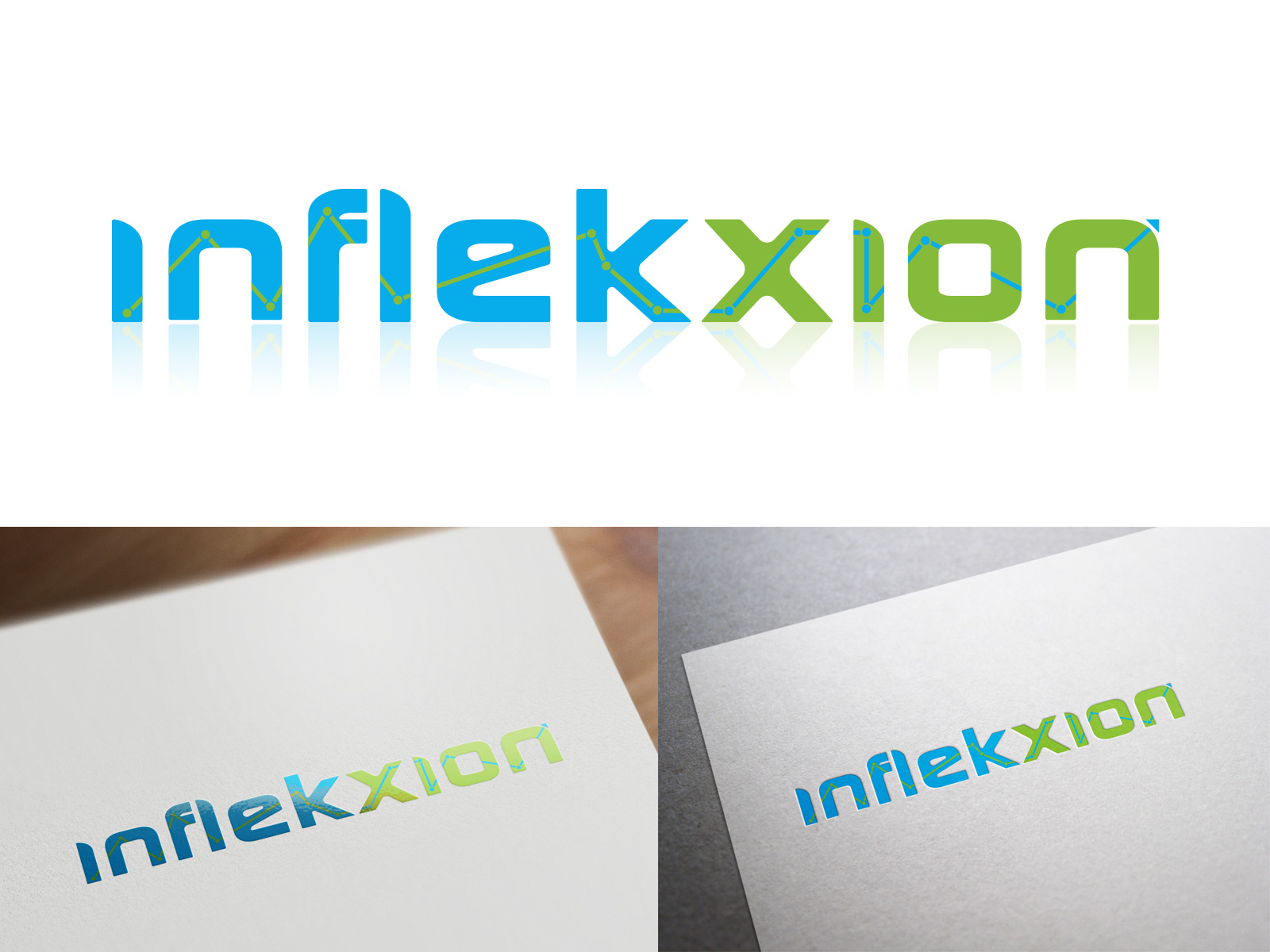 Logo Design by olii - Entry No. 184 in the Logo Design Contest Professional Logo Design for Inflekxion.