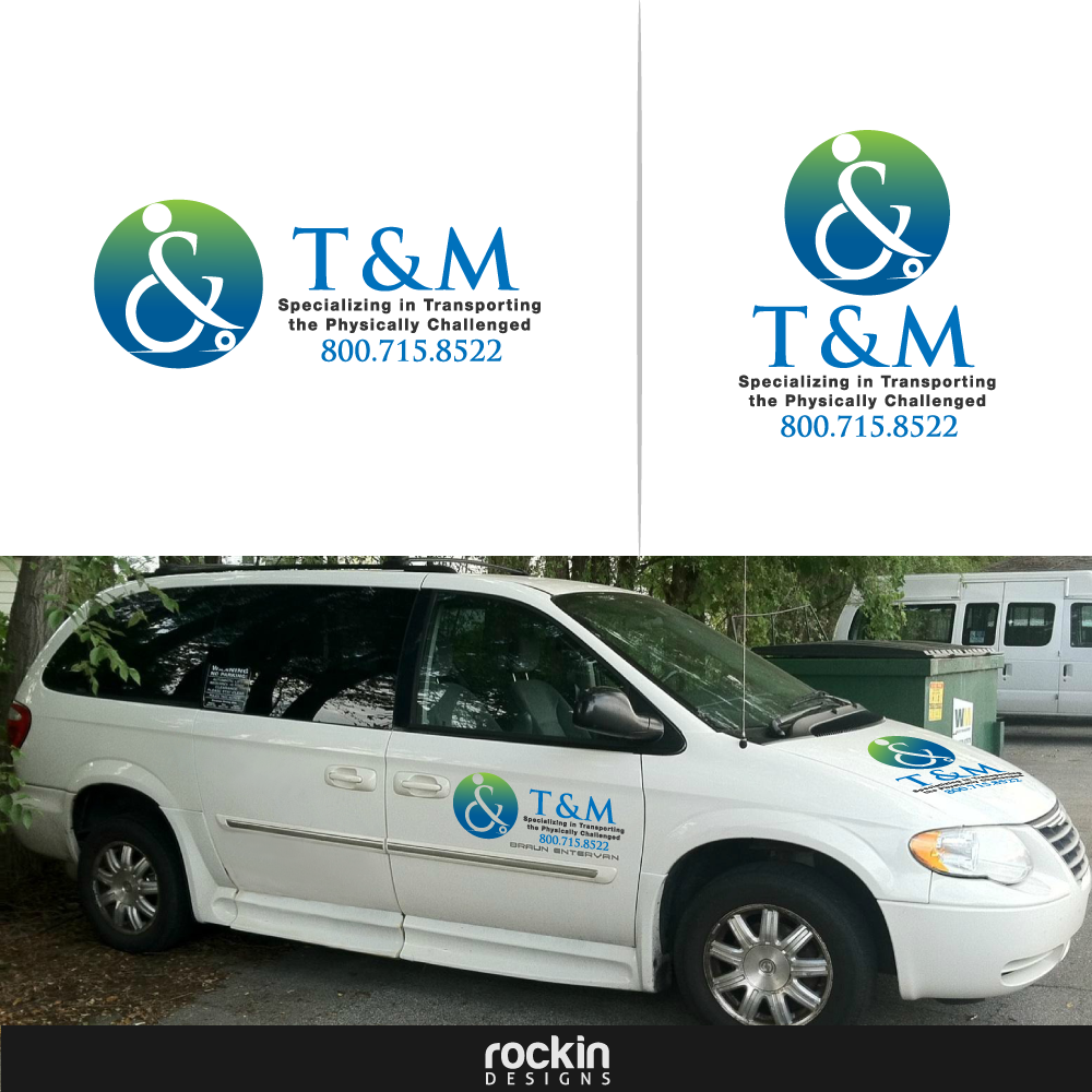 Logo Design by rockin - Entry No. 27 in the Logo Design Contest Artistic Logo Design for T & M.