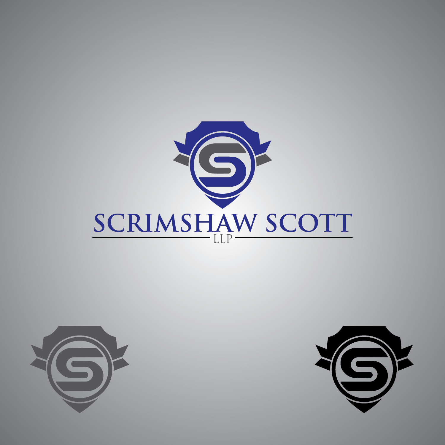 Logo Design by lagalag - Entry No. 109 in the Logo Design Contest Creative Logo Design for Scrimshaw Scott LLP.