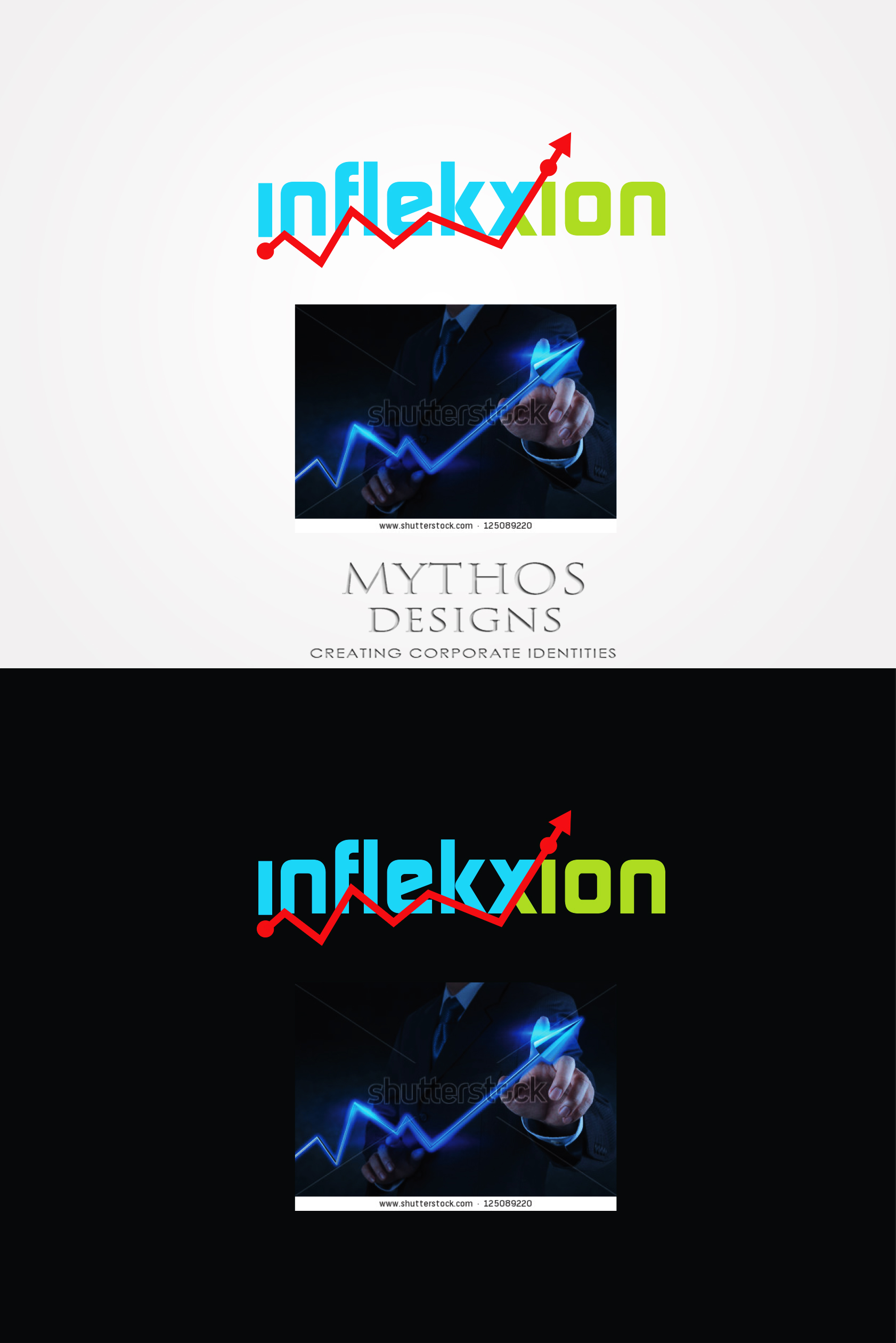 Logo Design by Mythos Designs - Entry No. 192 in the Logo Design Contest Professional Logo Design for Inflekxion.