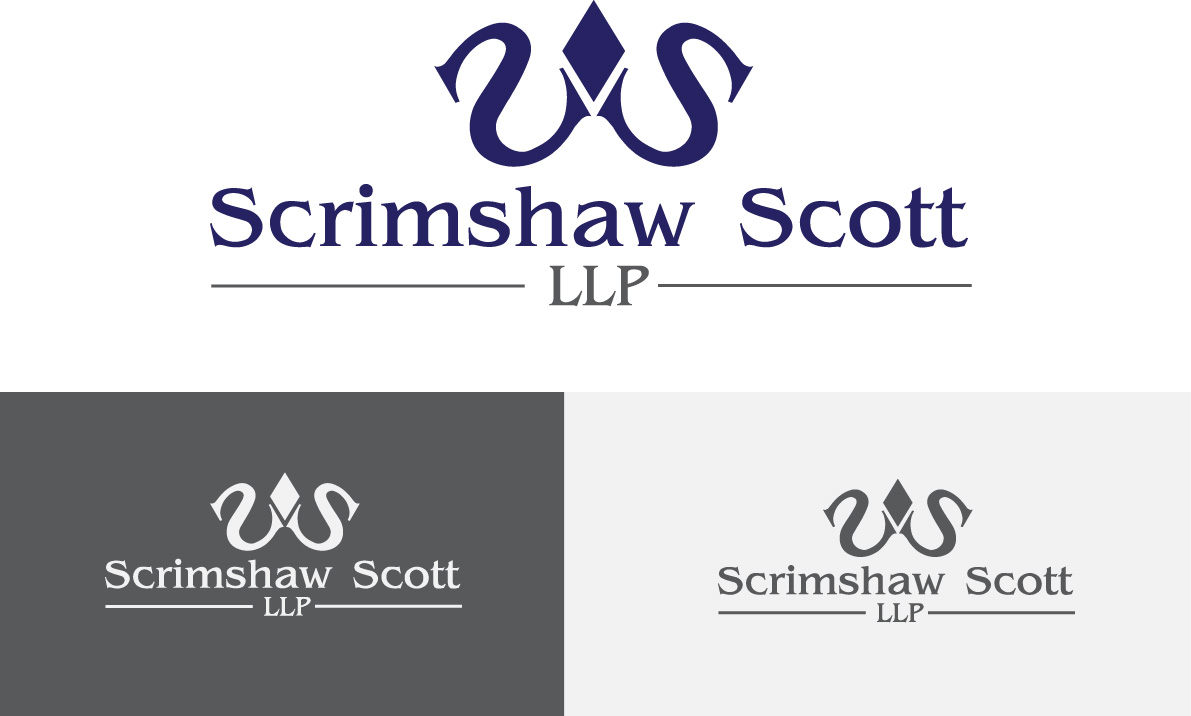 Logo Design by soha - Entry No. 111 in the Logo Design Contest Creative Logo Design for Scrimshaw Scott LLP.