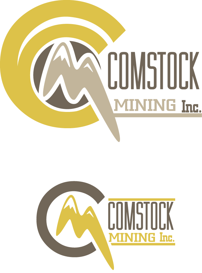 Logo Design by Beth Temple - Entry No. 16 in the Logo Design Contest Captivating Logo Design for Comstock Mining, Inc..