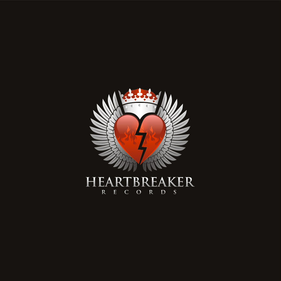 Logo Design by moxlabs - Entry No. 47 in the Logo Design Contest Heartbreaker Records.