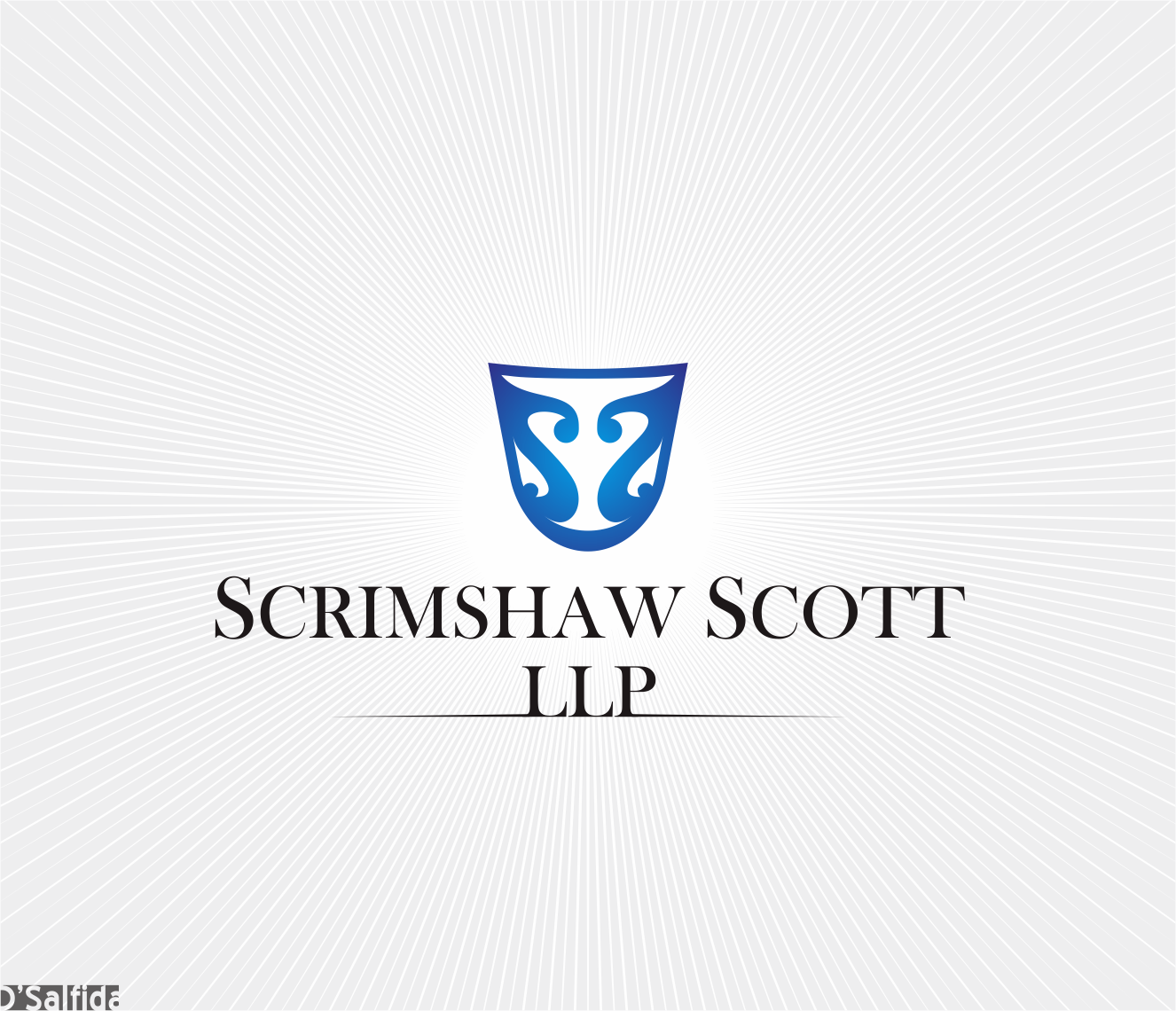 Logo Design by Armada Jamaluddin - Entry No. 114 in the Logo Design Contest Creative Logo Design for Scrimshaw Scott LLP.