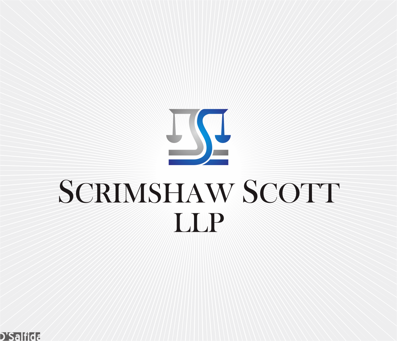 Logo Design by Armada Jamaluddin - Entry No. 115 in the Logo Design Contest Creative Logo Design for Scrimshaw Scott LLP.