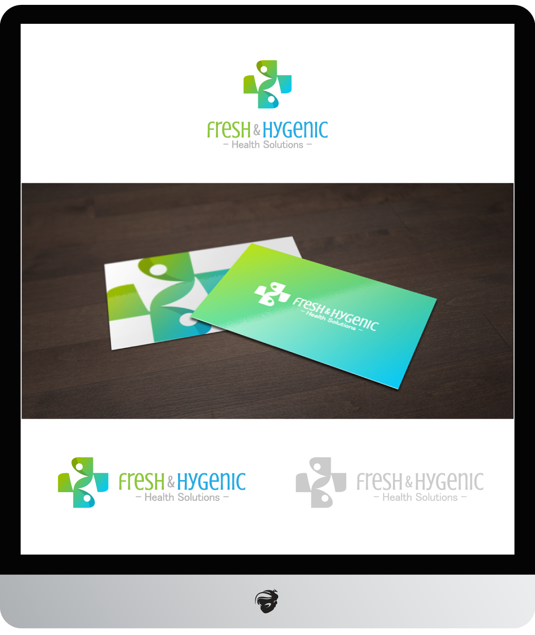 Logo Design by zesthar - Entry No. 81 in the Logo Design Contest Fun Logo Design for Fresh & Hygenic.