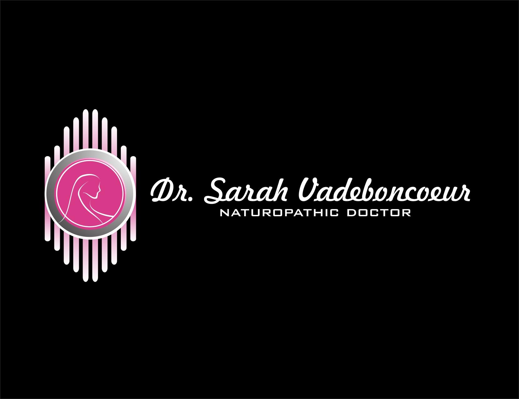 Logo Design by Reza Sasmita - Entry No. 85 in the Logo Design Contest New Logo Design for Dr. Sarah Vadeboncoeur, Naturopathic Doctor.