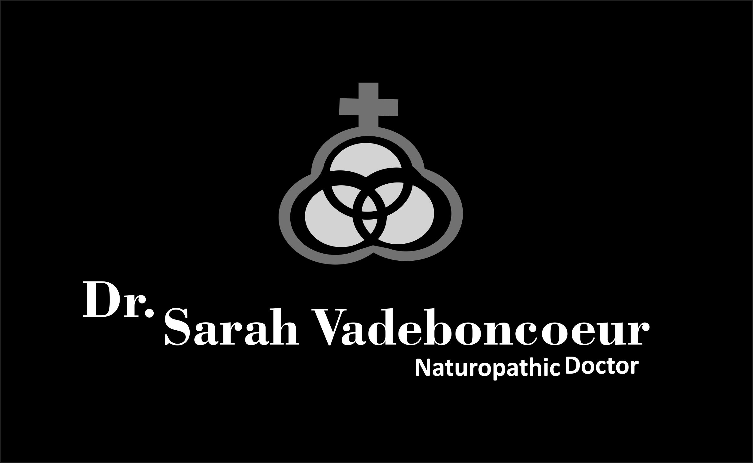 Logo Design by Cu Jcd - Entry No. 87 in the Logo Design Contest New Logo Design for Dr. Sarah Vadeboncoeur, Naturopathic Doctor.
