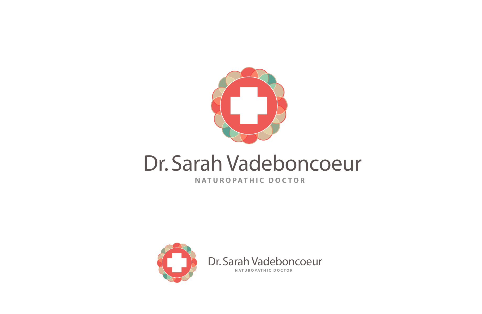 Logo Design by Jan Chua - Entry No. 92 in the Logo Design Contest New Logo Design for Dr. Sarah Vadeboncoeur, Naturopathic Doctor.