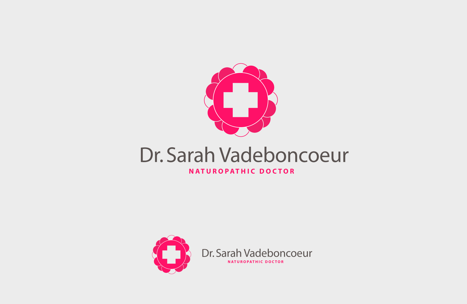 Logo Design by Jan Chua - Entry No. 94 in the Logo Design Contest New Logo Design for Dr. Sarah Vadeboncoeur, Naturopathic Doctor.