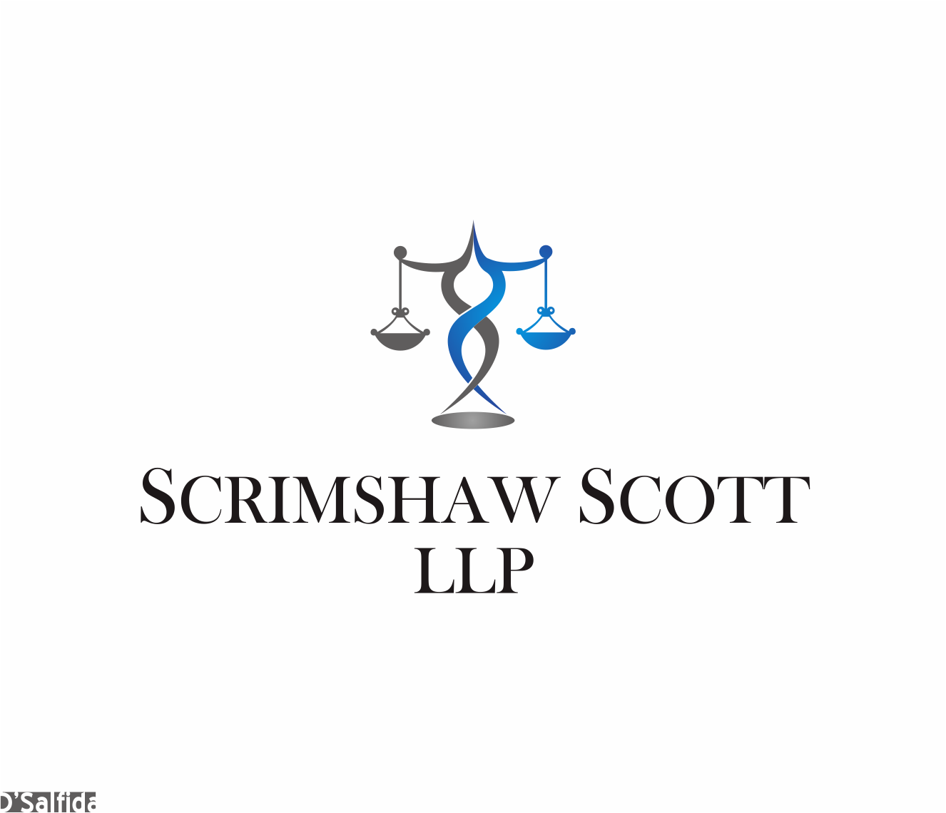 Logo Design by Armada Jamaluddin - Entry No. 118 in the Logo Design Contest Creative Logo Design for Scrimshaw Scott LLP.