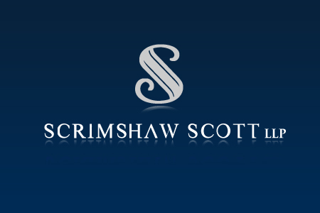 Logo Design by Crystal Desizns - Entry No. 119 in the Logo Design Contest Creative Logo Design for Scrimshaw Scott LLP.
