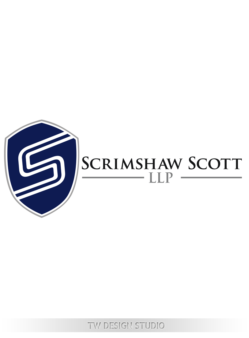 Logo Design by Robert Turla - Entry No. 122 in the Logo Design Contest Creative Logo Design for Scrimshaw Scott LLP.