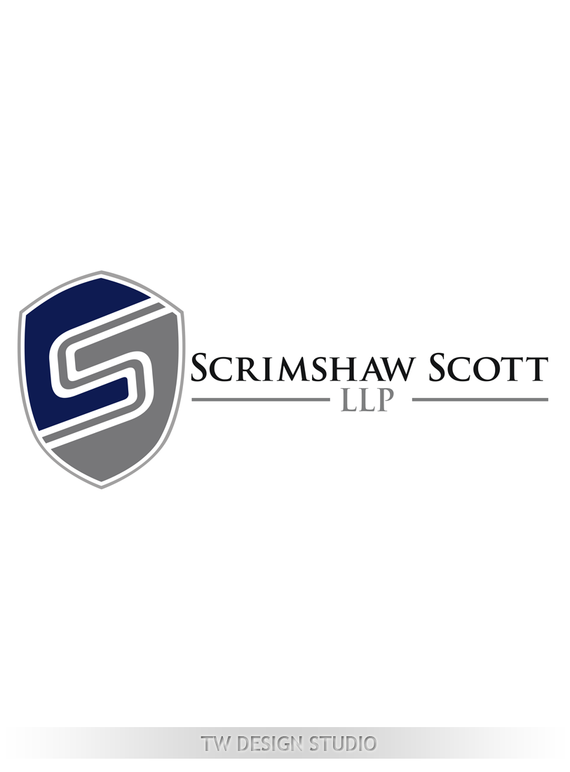 Logo Design by Private User - Entry No. 123 in the Logo Design Contest Creative Logo Design for Scrimshaw Scott LLP.