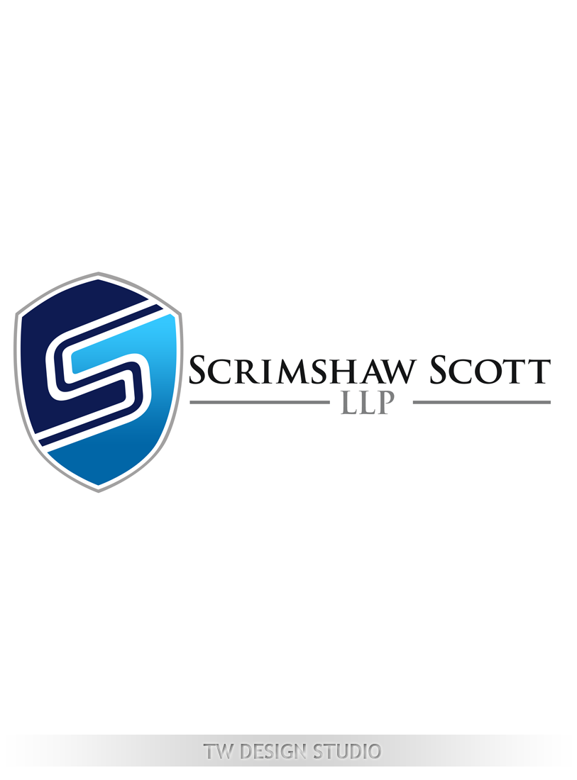 Logo Design by Private User - Entry No. 124 in the Logo Design Contest Creative Logo Design for Scrimshaw Scott LLP.