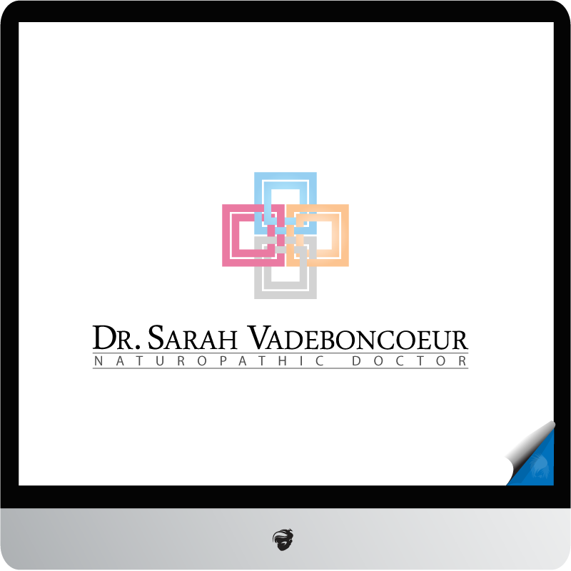 Logo Design by zesthar - Entry No. 99 in the Logo Design Contest New Logo Design for Dr. Sarah Vadeboncoeur, Naturopathic Doctor.