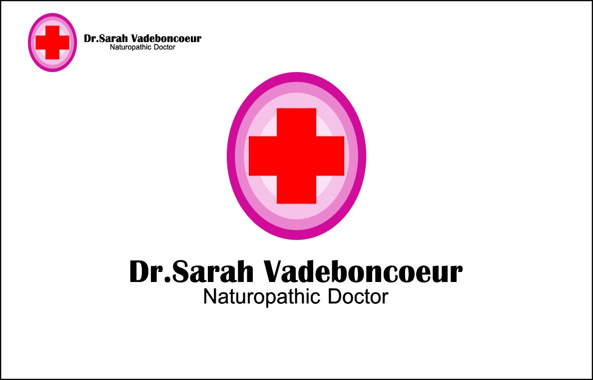 Logo Design by Agus Martoyo - Entry No. 104 in the Logo Design Contest New Logo Design for Dr. Sarah Vadeboncoeur, Naturopathic Doctor.