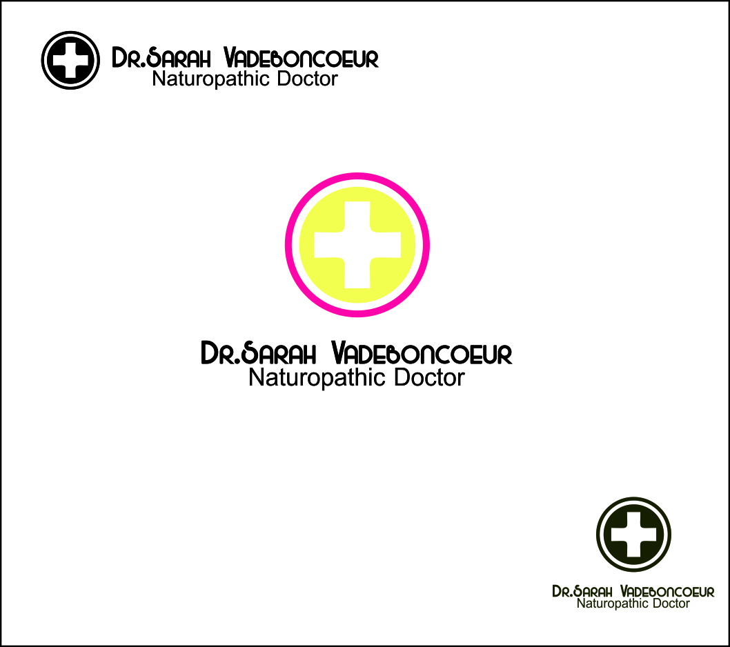 Logo Design by Agus Martoyo - Entry No. 105 in the Logo Design Contest New Logo Design for Dr. Sarah Vadeboncoeur, Naturopathic Doctor.