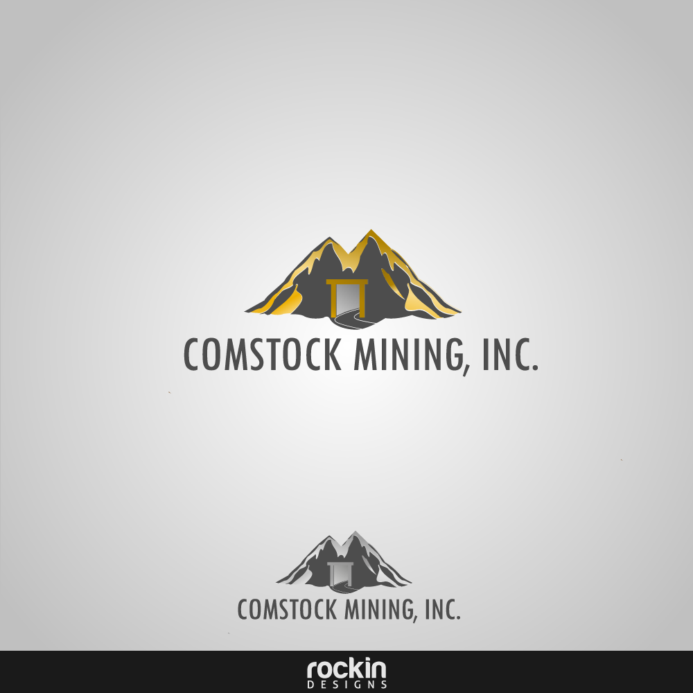 Logo Design by rockin - Entry No. 23 in the Logo Design Contest Captivating Logo Design for Comstock Mining, Inc..