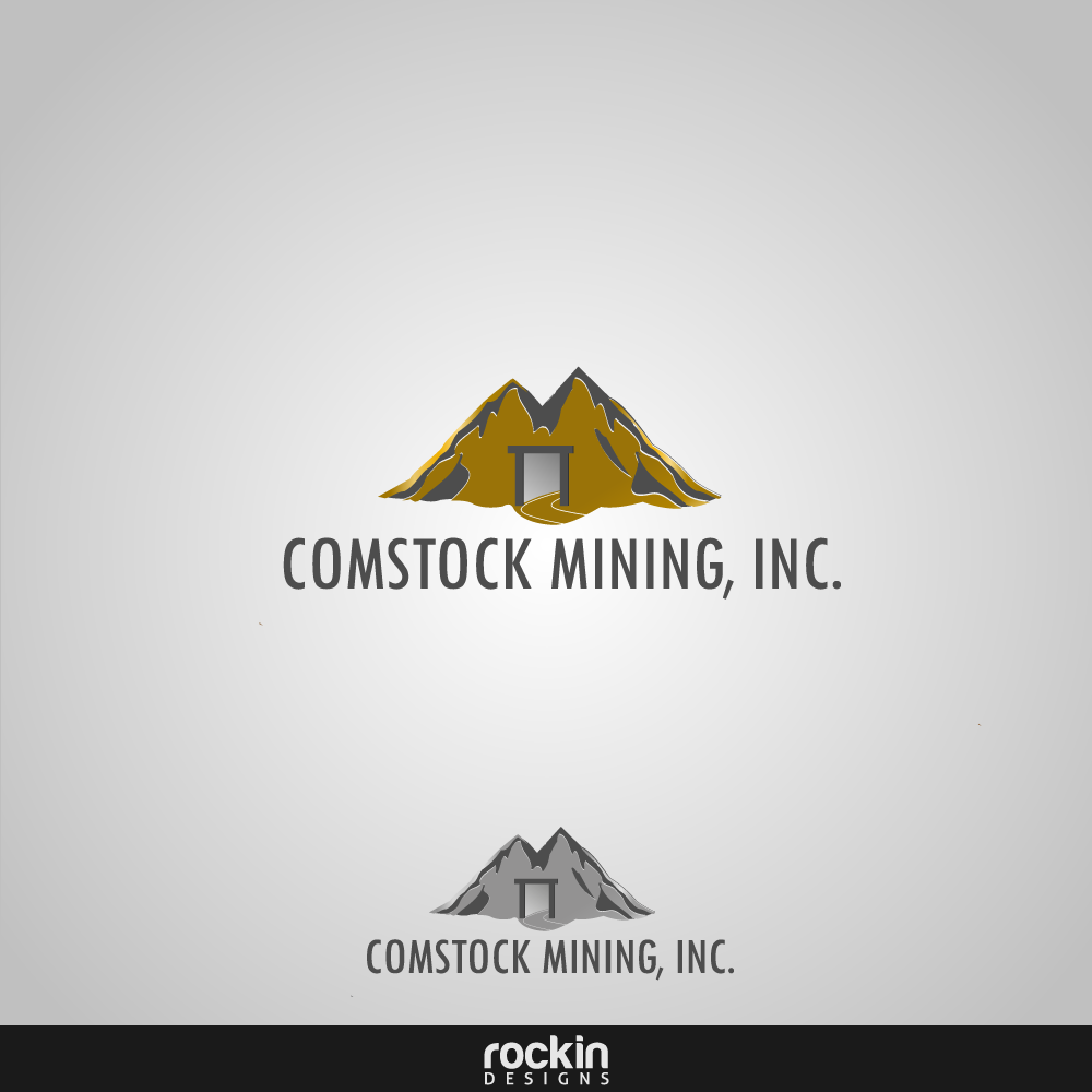 Logo Design by rockin - Entry No. 24 in the Logo Design Contest Captivating Logo Design for Comstock Mining, Inc..