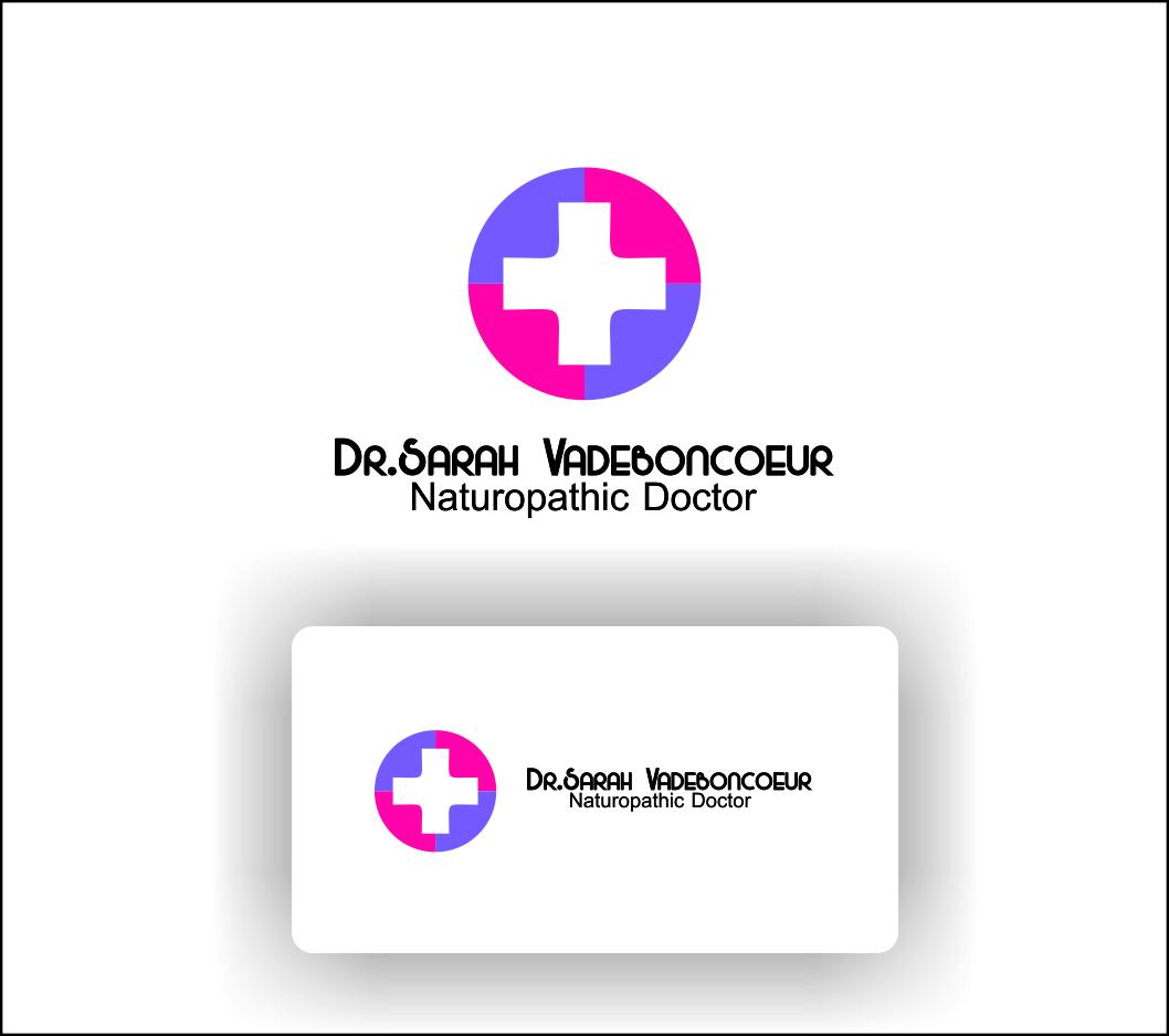Logo Design by Agus Martoyo - Entry No. 107 in the Logo Design Contest New Logo Design for Dr. Sarah Vadeboncoeur, Naturopathic Doctor.