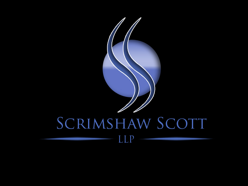Logo Design by Aljohn Mana-ay - Entry No. 126 in the Logo Design Contest Creative Logo Design for Scrimshaw Scott LLP.
