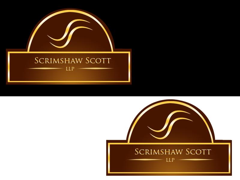 Logo Design by Aljohn Mana-ay - Entry No. 128 in the Logo Design Contest Creative Logo Design for Scrimshaw Scott LLP.