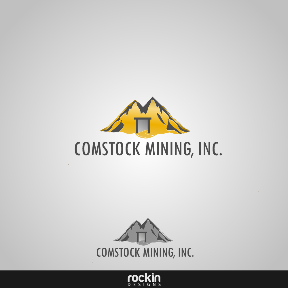 Logo Design by rockin - Entry No. 25 in the Logo Design Contest Captivating Logo Design for Comstock Mining, Inc..