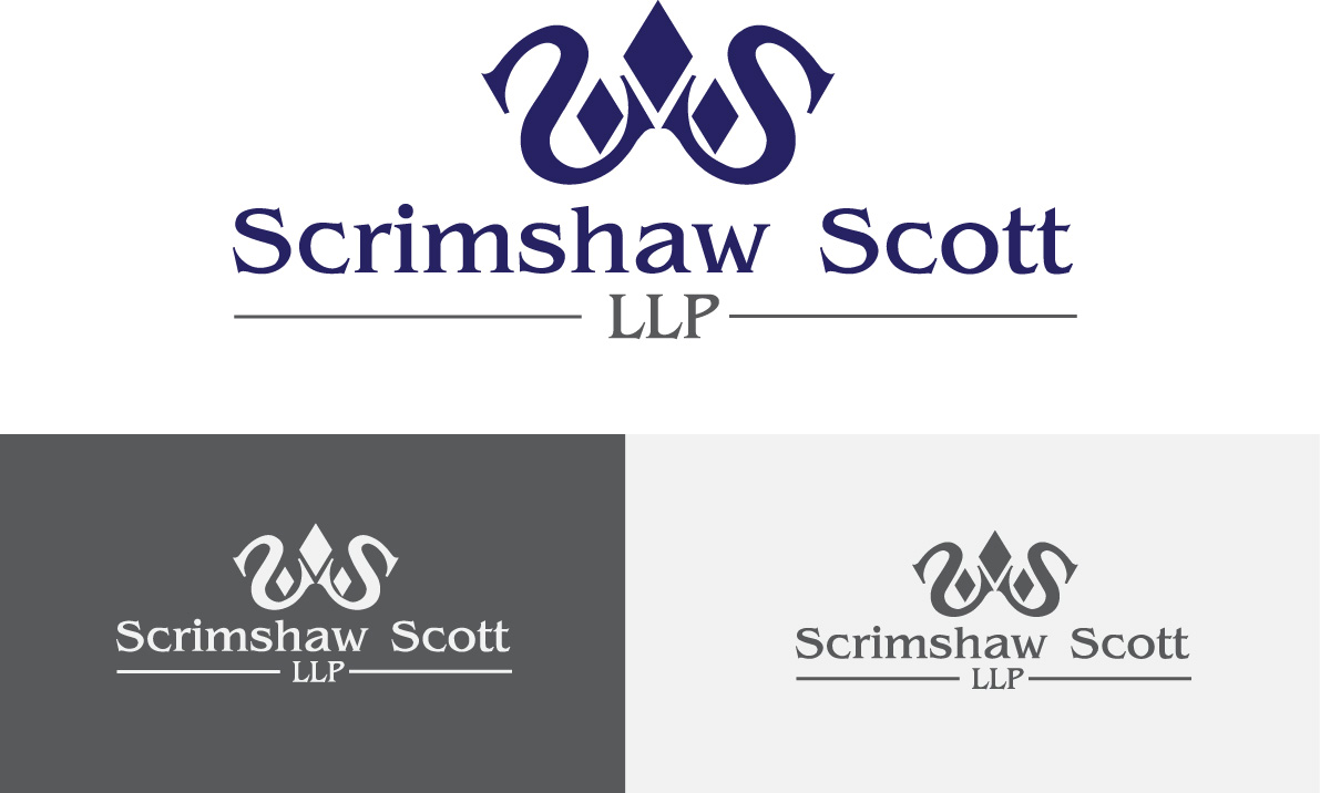 Logo Design by soha - Entry No. 129 in the Logo Design Contest Creative Logo Design for Scrimshaw Scott LLP.