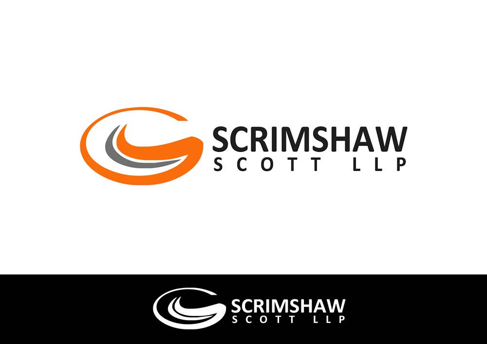 Logo Design by Respati Himawan - Entry No. 131 in the Logo Design Contest Creative Logo Design for Scrimshaw Scott LLP.