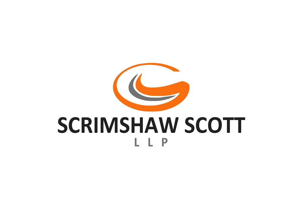 Logo Design by Respati Himawan - Entry No. 132 in the Logo Design Contest Creative Logo Design for Scrimshaw Scott LLP.