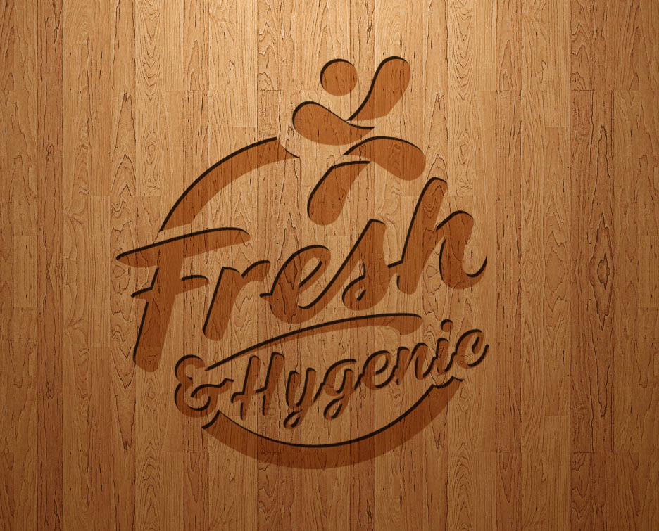 Logo Design by lagalag - Entry No. 92 in the Logo Design Contest Fun Logo Design for Fresh & Hygenic.