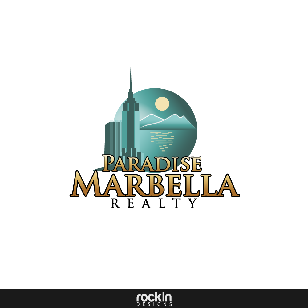 Logo Design by rockin - Entry No. 1 in the Logo Design Contest Captivating Logo Design for Paradise Marbella Realty.