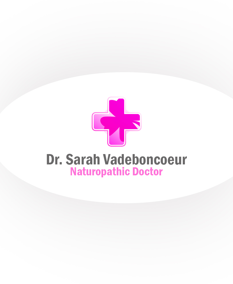 Logo Design by Charlies Pelones - Entry No. 122 in the Logo Design Contest New Logo Design for Dr. Sarah Vadeboncoeur, Naturopathic Doctor.