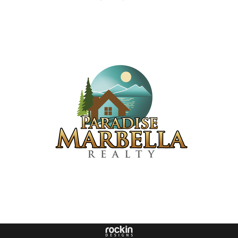 Logo Design by rockin - Entry No. 3 in the Logo Design Contest Captivating Logo Design for Paradise Marbella Realty.