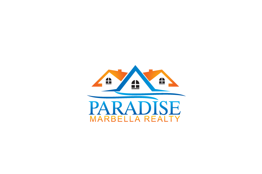 Logo Design by Private User - Entry No. 6 in the Logo Design Contest Captivating Logo Design for Paradise Marbella Realty.