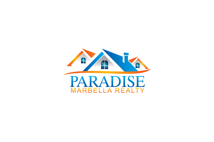 Logo Design by Private User - Entry No. 7 in the Logo Design Contest Captivating Logo Design for Paradise Marbella Realty.