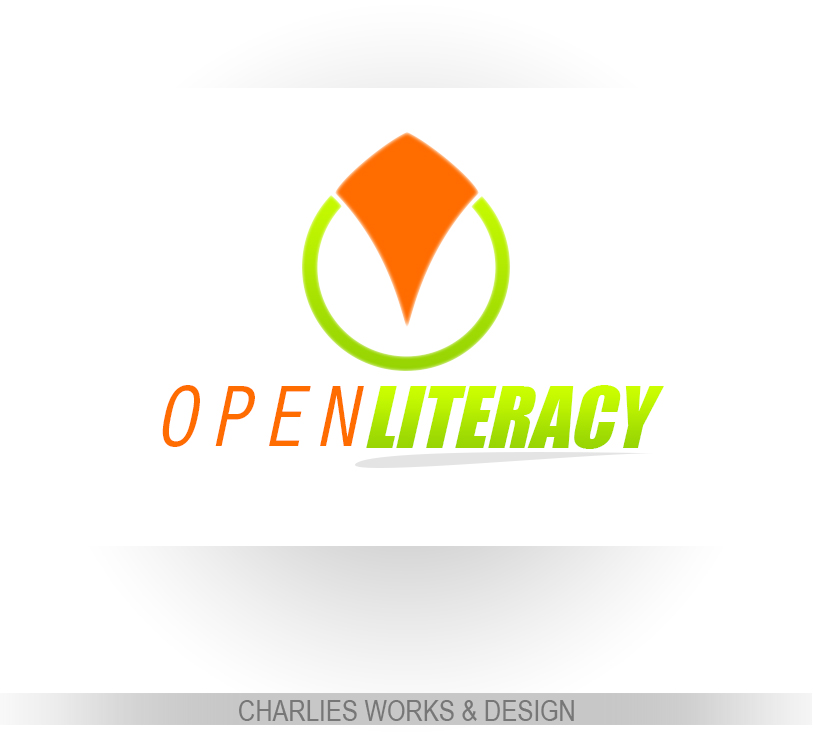 Logo Design by Charlies Pelones - Entry No. 22 in the Logo Design Contest Inspiring Logo Design for OpenLiteracy.