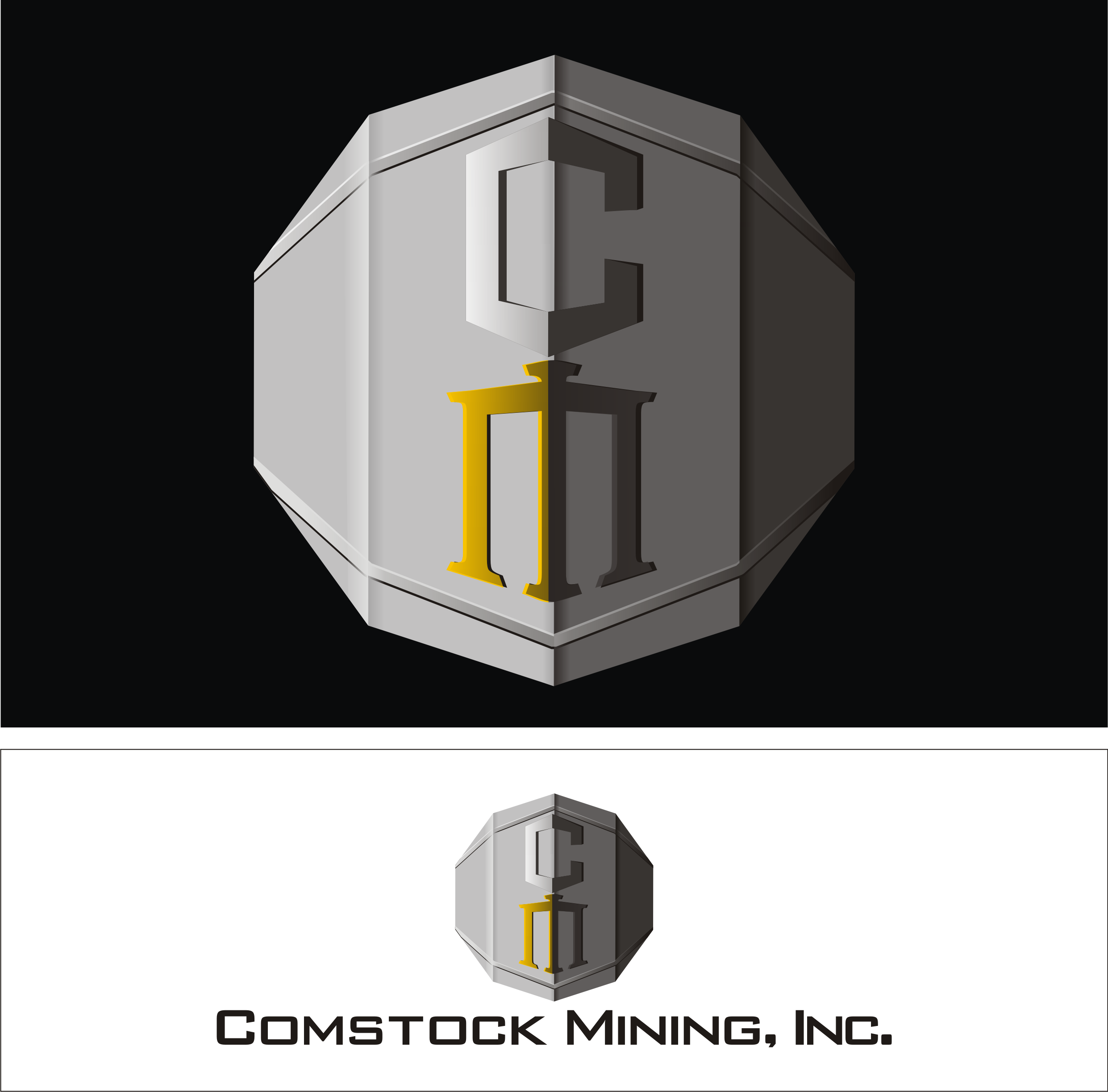 Logo Design by Private User - Entry No. 35 in the Logo Design Contest Captivating Logo Design for Comstock Mining, Inc..