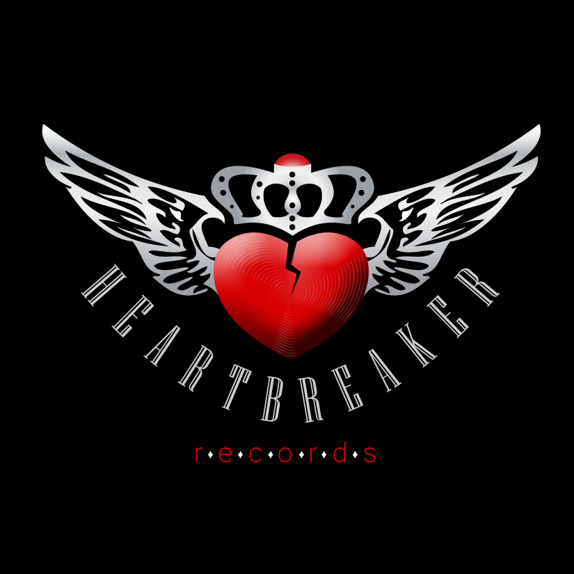 Logo Design by DayDream - Entry No. 48 in the Logo Design Contest Heartbreaker Records.