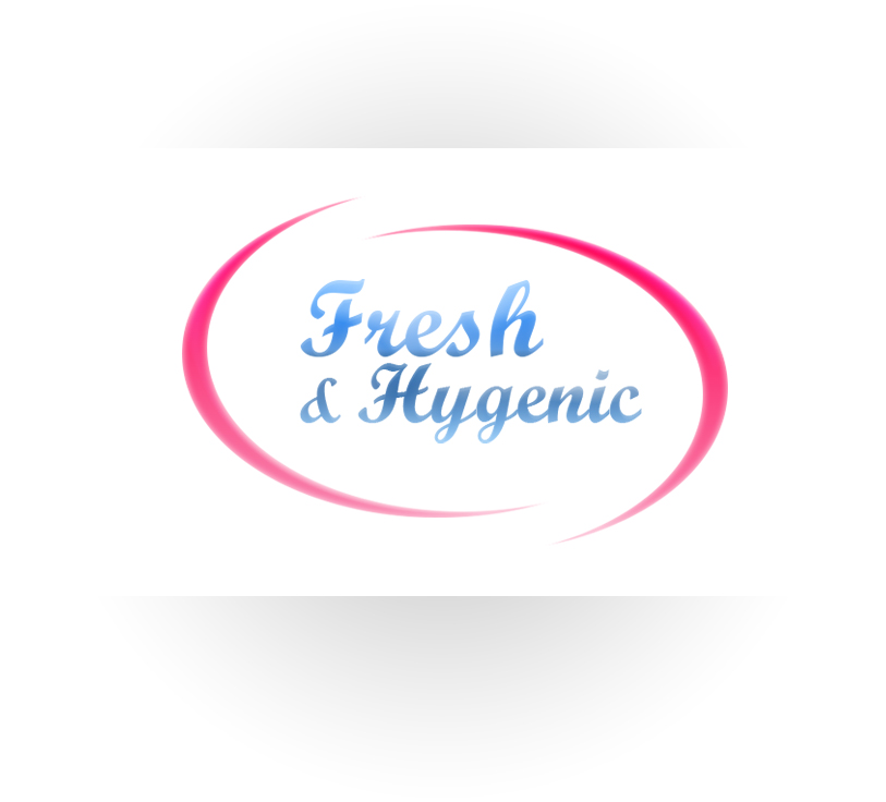 Logo Design by Charlies Pelones - Entry No. 100 in the Logo Design Contest Fun Logo Design for Fresh & Hygenic.