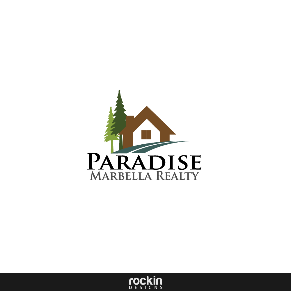 Logo Design by rockin - Entry No. 8 in the Logo Design Contest Captivating Logo Design for Paradise Marbella Realty.