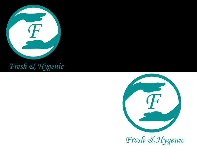 Logo Design by Aljohn Mana-ay - Entry No. 106 in the Logo Design Contest Fun Logo Design for Fresh & Hygenic.