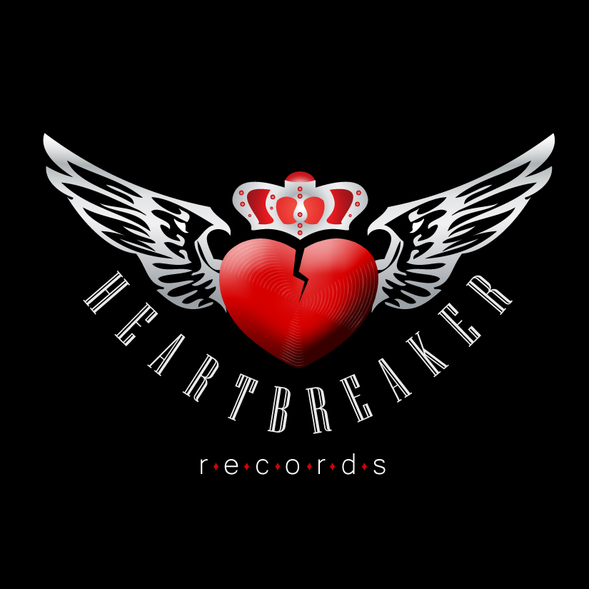 Logo Design by DayDream - Entry No. 51 in the Logo Design Contest Heartbreaker Records.