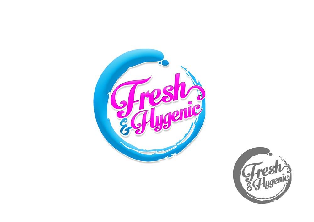 Logo Design by Respati Himawan - Entry No. 113 in the Logo Design Contest Fun Logo Design for Fresh & Hygenic.